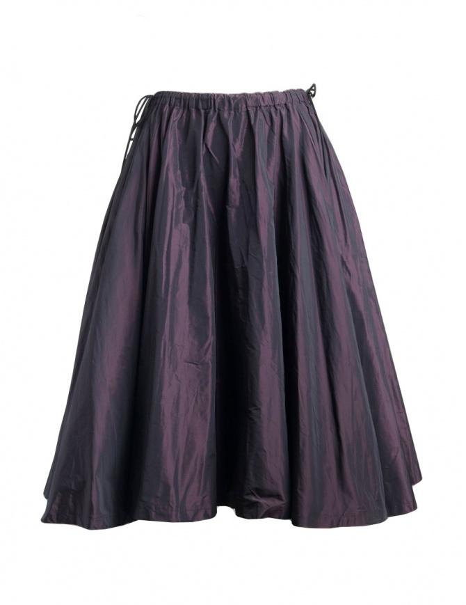 Miyao merlot color skirt MP-S-01 BURGUNDY RED womens skirts online shopping