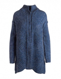 Yasmin Naqvi blue long cardigan on discount sales online