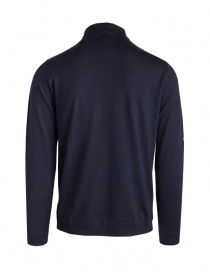 Goes Botanical blue long sleeve polo shirt
