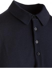 Goes Botanical blue long sleeve polo shirt price