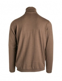 Goes Botanical brown turtleneck sweater