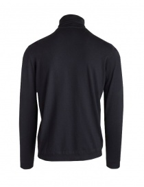 Goes Botanical black turtleneck sweater