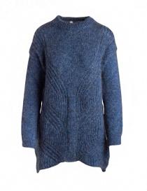 Maglione lungo Yasmin Naqvi blu YNKD11 MAGLIA BLUE