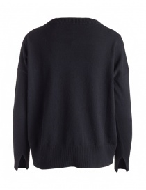 Yasmin Naqvi black sweater