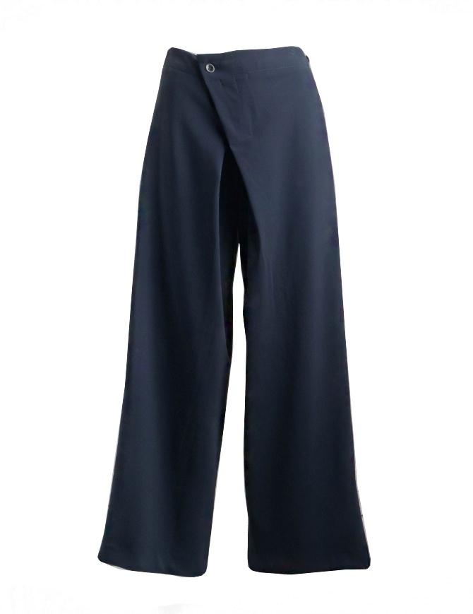 Pantalone a palazzo Yasmin Naqvi blu YNP02 PANTALONE BLUE pantaloni donna online shopping