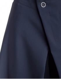 Pantalone a palazzo Yasmin Naqvi blu pantaloni donna acquista online