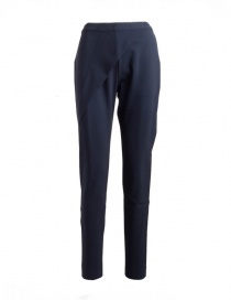 Womens trousers online: Yasmin Naqvi blue skinny trousers