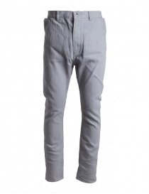 Mens trousers online: Deepti grey denim D-144W