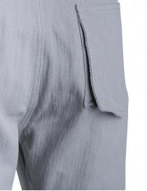 Denim Deepti colore grigio D-144W pantaloni uomo prezzo
