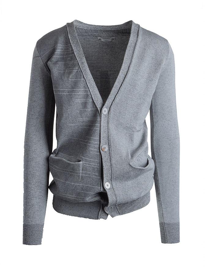 Cardigan Deepti colore grigio K-147 K-147 COL. 45 cardigan uomo online shopping