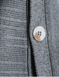 Cardigan Deepti colore grigio K-147 cardigan uomo acquista online