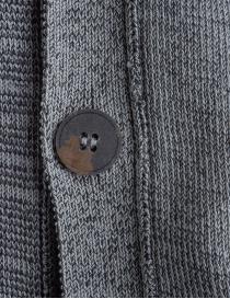 Cardigan Deepti colore grigio K-147 cardigan uomo prezzo