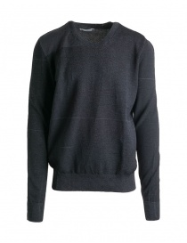 Mens knitwear online: Deepti black sweater K-146
