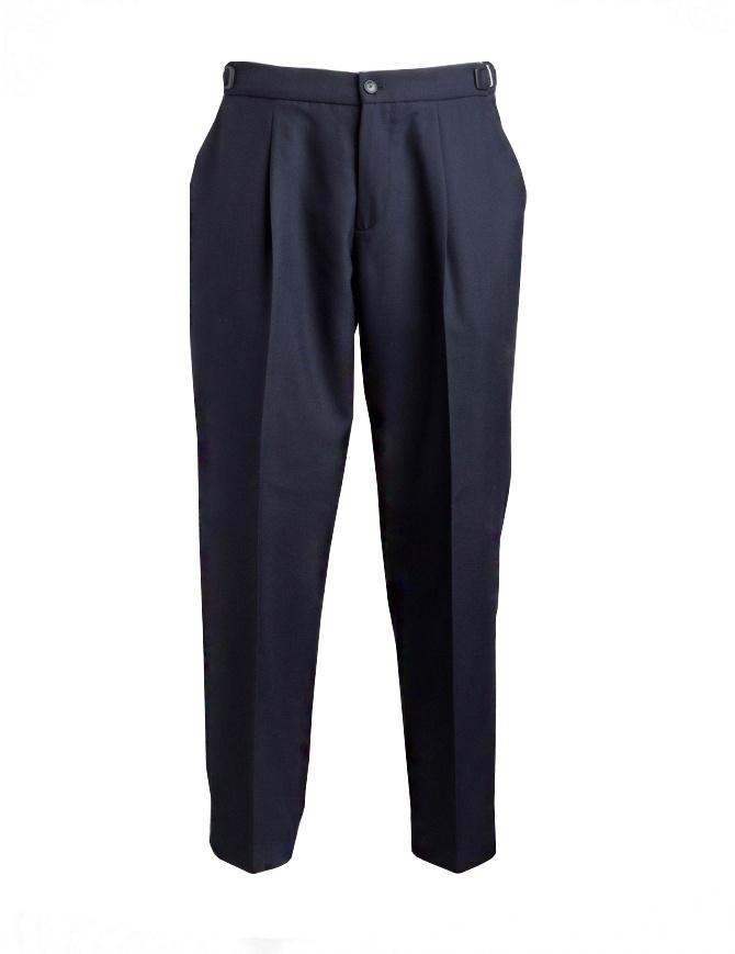 Pantalone Cellar Door Leo T colore navy LEO T- B148 COL. 65 pantaloni uomo online shopping