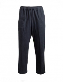 Cellar Door Artur blue velvet trousers 36IUARTUR P122 97