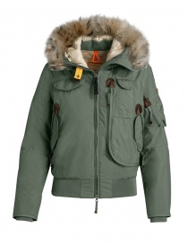 Parajumpers Gobi Light sage green bomber PM JCK MG01 GOBI LIGHT 716 order online