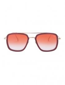 Glasses online: Kyro Mckay red sunglasses Sanya C3 model