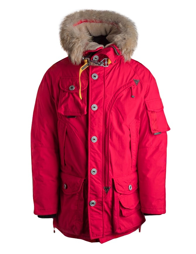 Giubbotto Parajumpers Musher rosso PM JCK PQ02 MUSHER 723 giubbini uomo online shopping