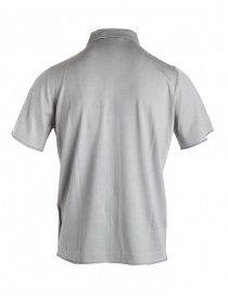 Goes Botanical grey polo shirt with buttons buy online