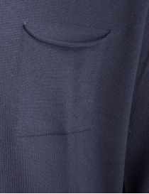 Cardigan Goes Botanical blu in lana merino prezzo
