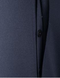 Goes Botanical blue cardigan in merino wool mens cardigans buy online