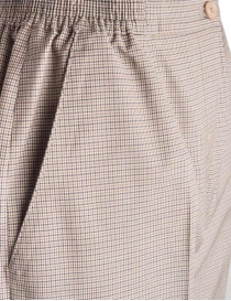 Women's trousers Cellar Door in beige houndstooth price