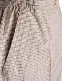 Pantaloni da donna Cellar Door pied de poule beige prezzo