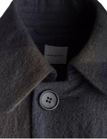 Cappotto Sage de Cret colore blu e verde in lana prezzo