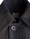 Cappotto Sage de Cret colore blu e verde in lana 31-80-9353 prezzo