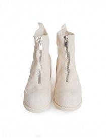 Stivaletto Guidi PL1 in pelle di cavallo rovesciata bianca calzature uomo acquista online