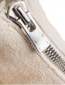 Stivaletto Guidi PL1 in pelle di cavallo rovesciata bianca calzature uomo prezzo