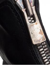 Guidi PL1 stivaletto nero in pelle di cavallo calzature uomo prezzo