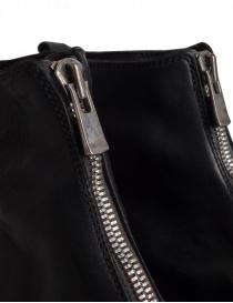 Guidi PL1 stivaletto nero in pelle di cavallo acquista online prezzo
