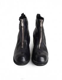 Guidi PL1 stivaletto nero in pelle di cavallo calzature uomo acquista online