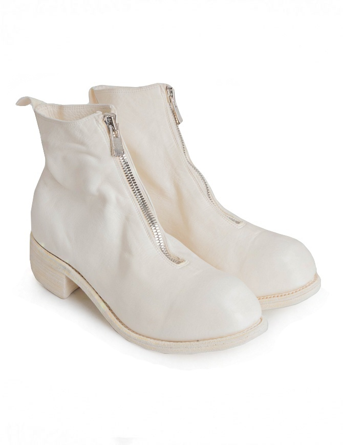 Guidi PL1 white horse leather ankle boots PL1 SOFT HORSE F.G.LINED CO00T womens shoes online shopping