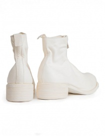 Guidi PL1 white horse leather ankle boots price