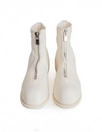 Guidi PL1 stivaletto bianco in pelle di cavallo calzature donna acquista online