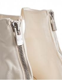 Guidi PL1 stivaletto bianco in pelle di cavallo acquista online prezzo