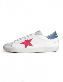 Golden Goose Superstar sneakers with red star