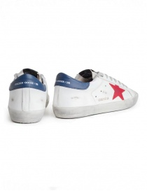 Golden Goose Superstar sneakers with red star price