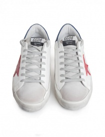 Golden Goose Superstar sneakers with red star mens shoes buy online