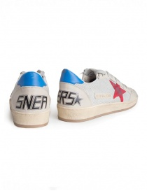 Golden Goose Ballstar sneakers in technical mesh with red star price