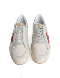 Golden Goose Ballstar sneakers in technical mesh with red star mens shoes buy online
