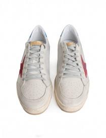 Sneakers Golden Goose Ballstar in tessuto tecnico con stella rossa calzature uomo acquista online
