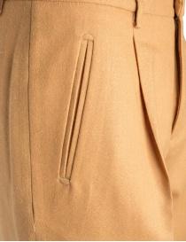 Cellar Door Sveva ochre mustard colored trousers price