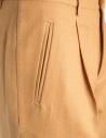 Cellar Door Sveva ochre mustard colored trousers SVEVA- B231 COL. 21 price
