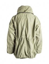 Kapital army green coat in ripstop cotton