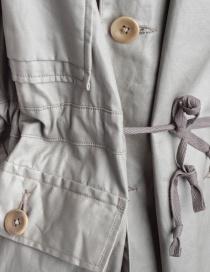 Kapital gray green waxed parka mens coats buy online