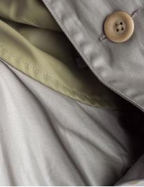 Parka Kapital colore verde grigio cerato cappotti uomo prezzo
