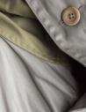 Kapital gray green waxed parka price K1603LJ026-GRK shop online